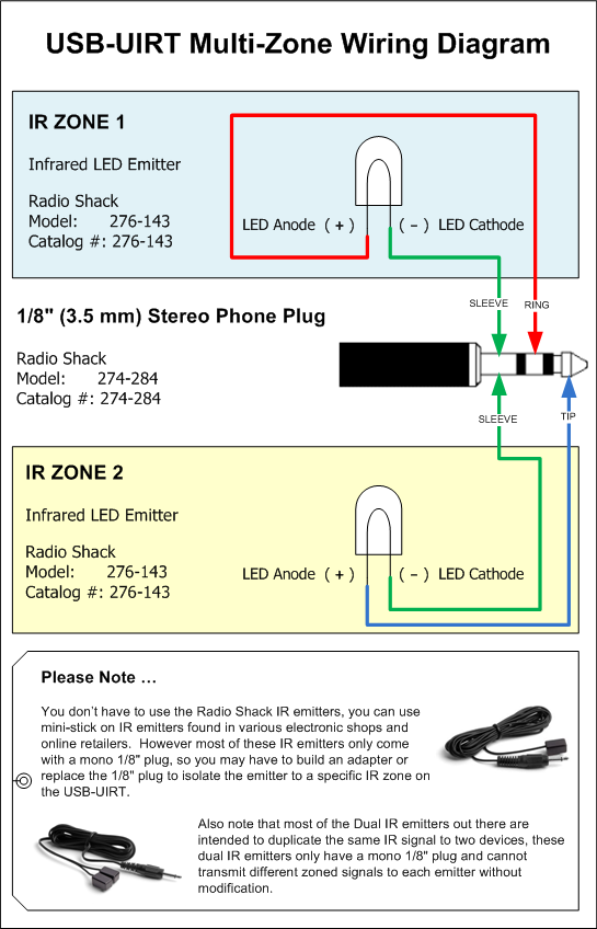 usb uirt forum bull view topic here is a wiring diagram for here is a wiring diagram for multiple external emitters